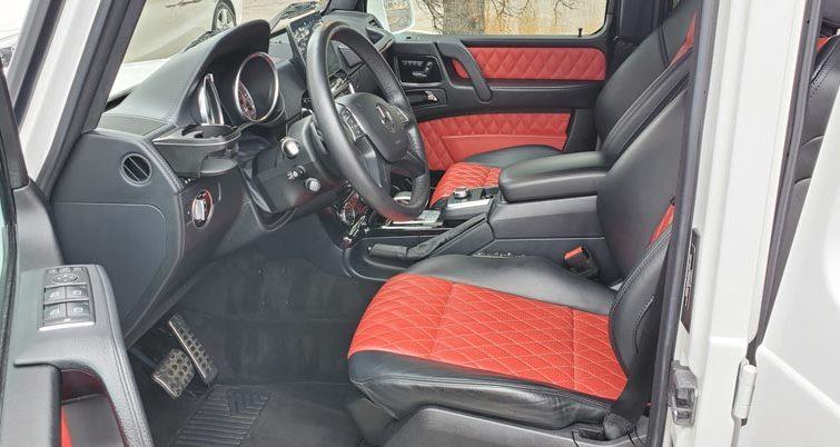 clean interior of a car